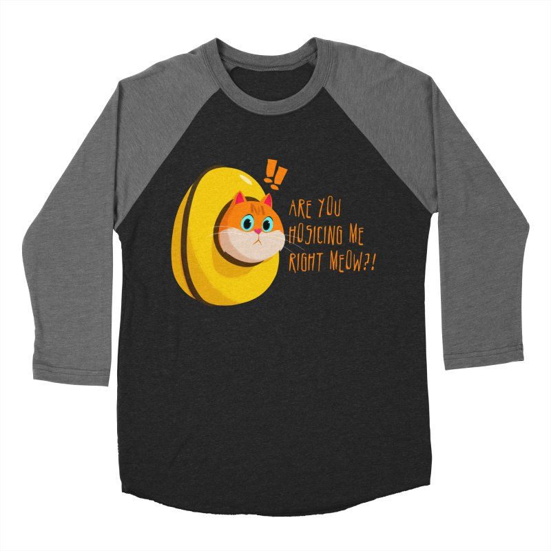Are you Hosicing me right Meow?! Women's Baseball Triblend Longsleeve T-Shirt by Hosico's Shop