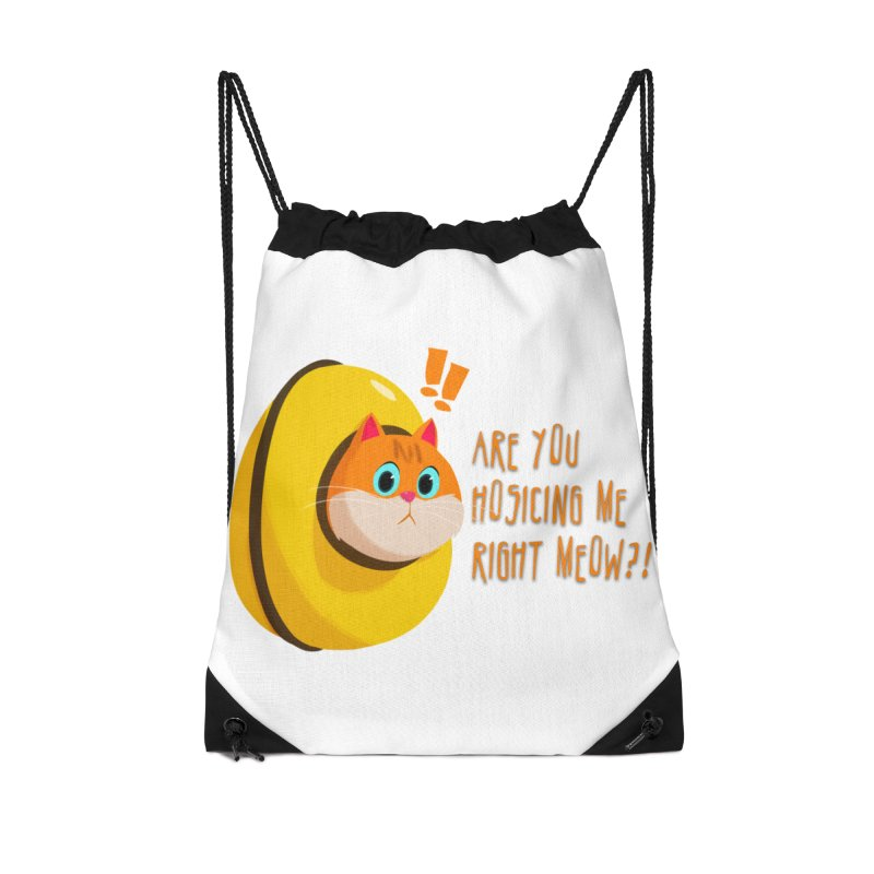 Are you Hosicing me right Meow?! Accessories Bag by Hosico's Shop