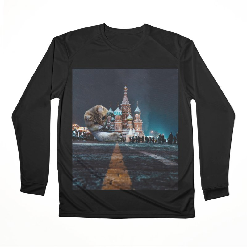 Saint Basil's Cathedral and Hosico Women's Longsleeve T-Shirt by Hosico's Shop