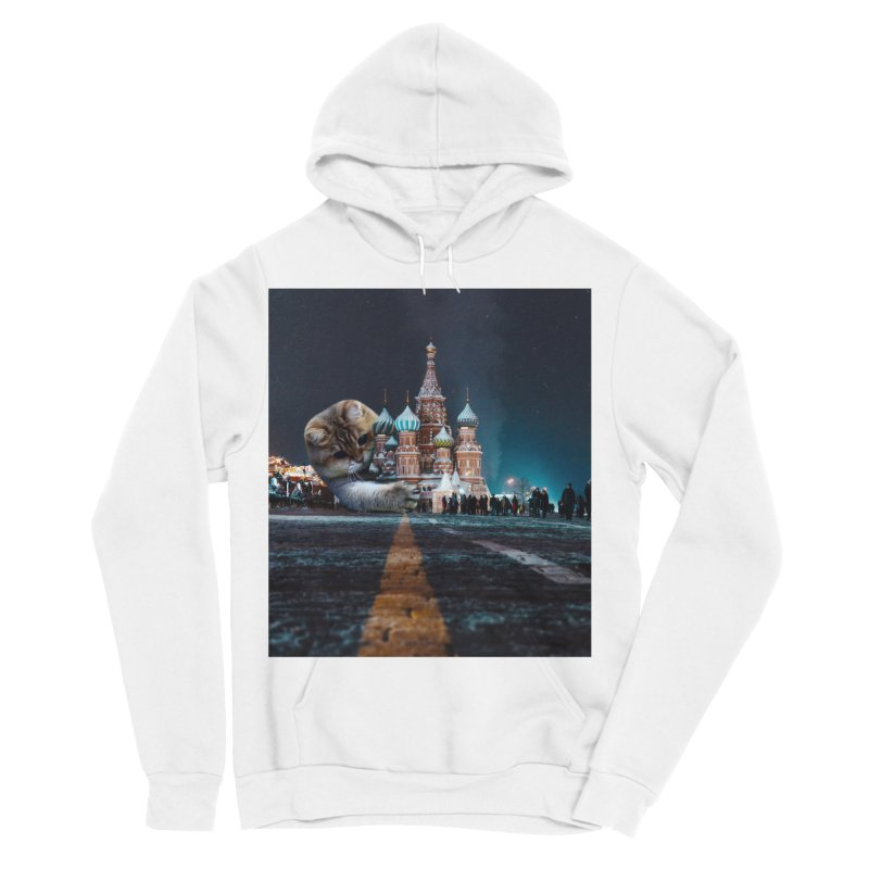 Saint Basil's Cathedral and Hosico Men's Pullover Hoody by Hosico's Shop