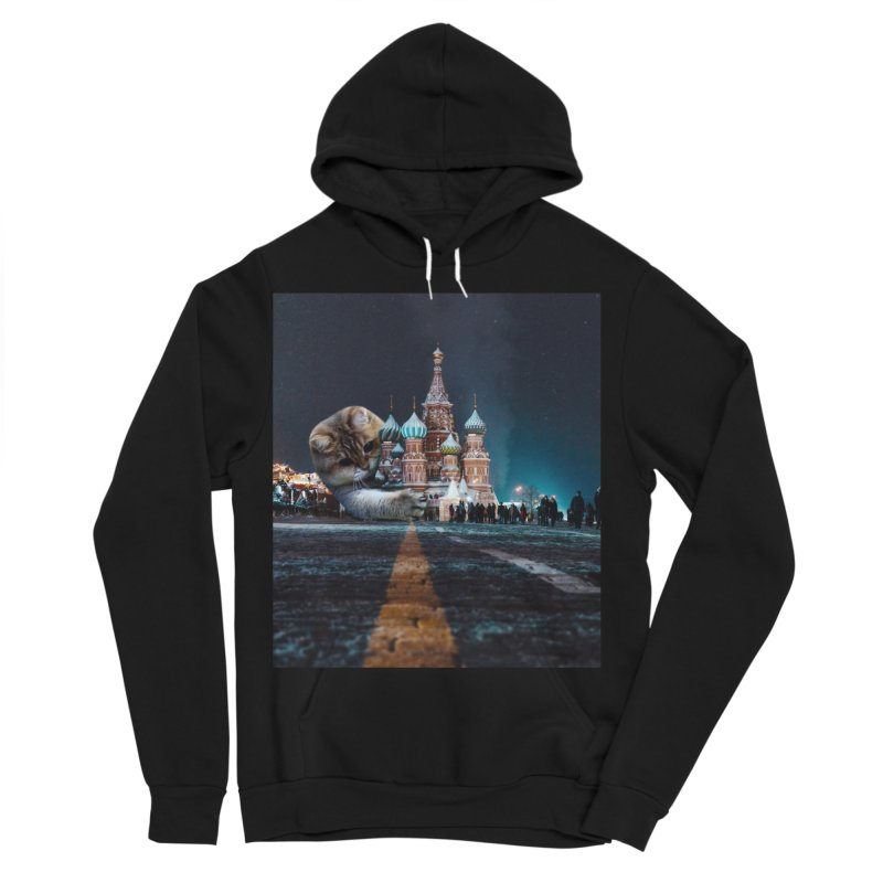 Saint Basil's Cathedral and Hosico Women's Sponge Fleece Pullover Hoody by Hosico's Shop