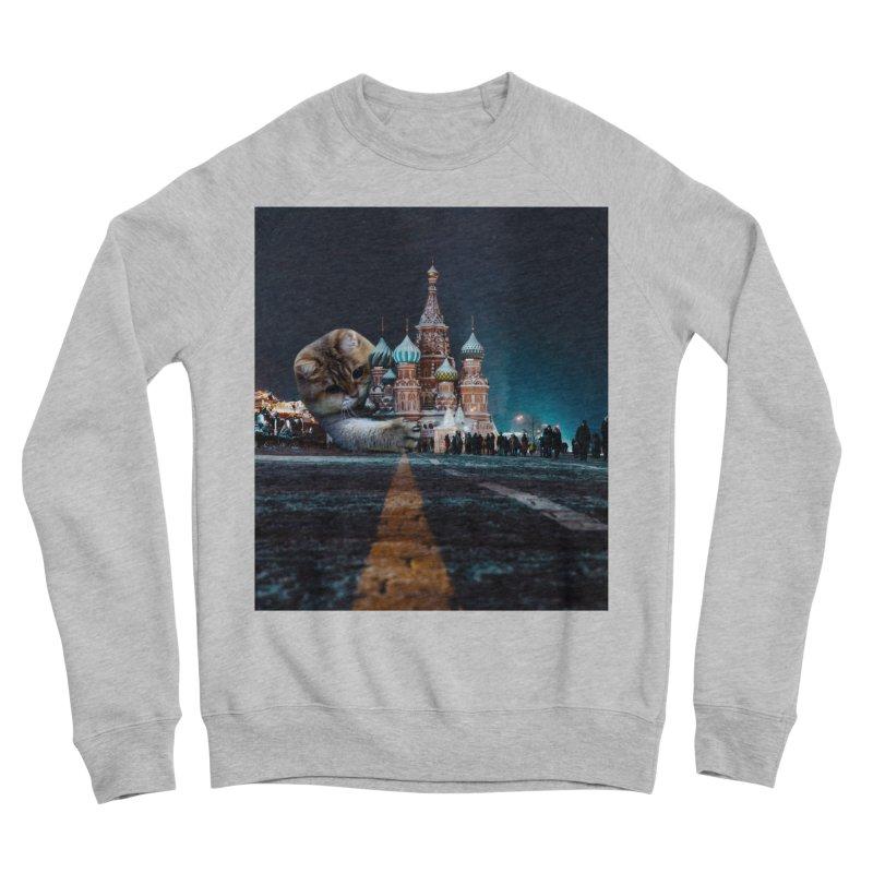 Saint Basil's Cathedral and Hosico Women's Sponge Fleece Sweatshirt by Hosico's Shop