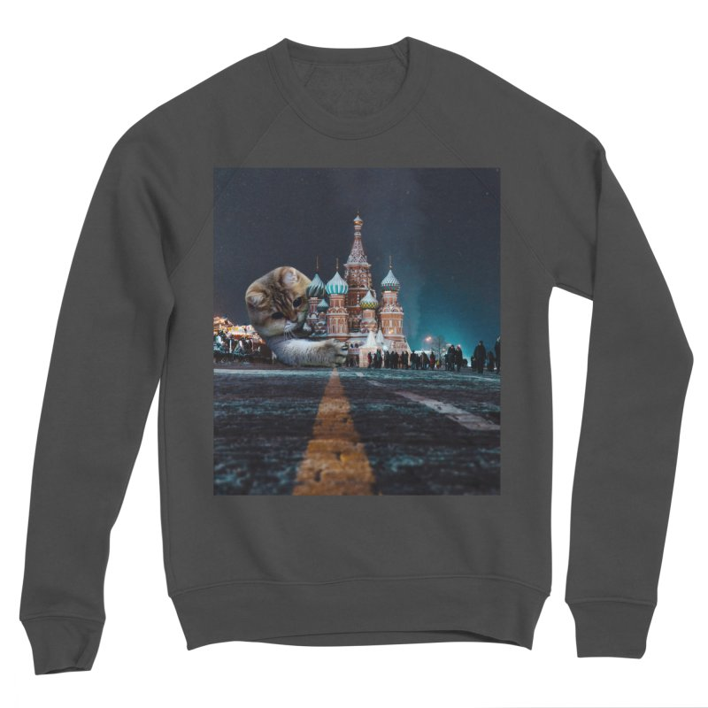 Saint Basil's Cathedral and Hosico Women's Sponge Fleece Sweatshirt by Hosico's Shop