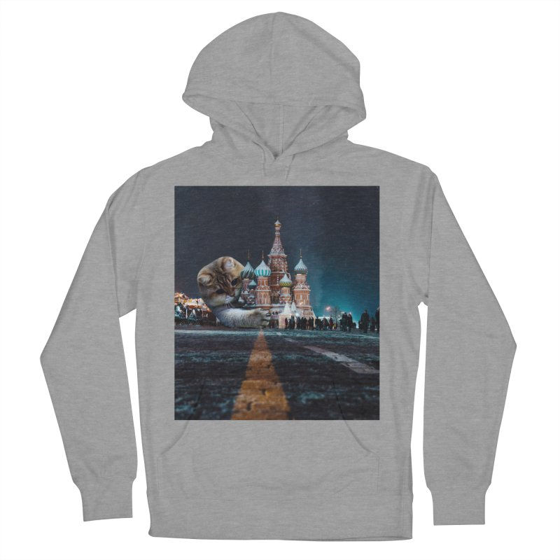 Saint Basil's Cathedral and Hosico Women's Pullover Hoody by Hosico's Shop