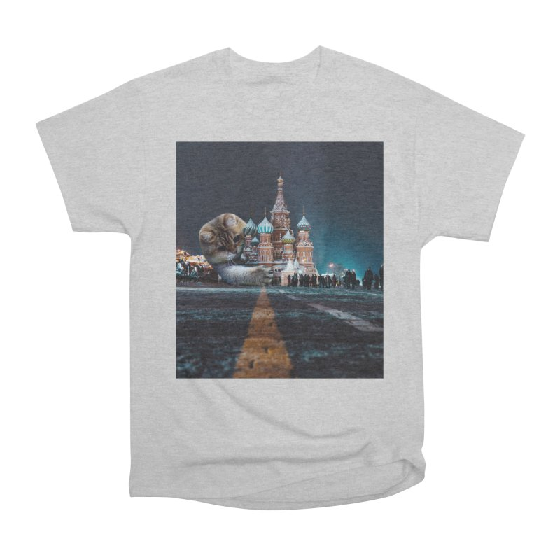 Saint Basil's Cathedral and Hosico Women's Heavyweight Unisex T-Shirt by Hosico's Shop