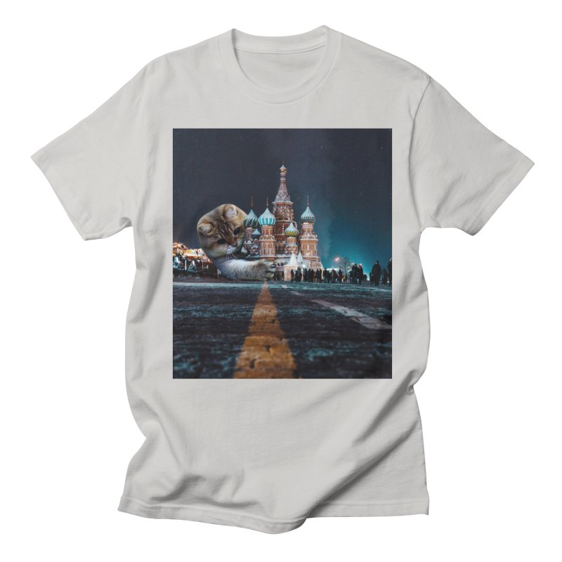 Saint Basil's Cathedral and Hosico Women's Regular Unisex T-Shirt by Hosico's Shop