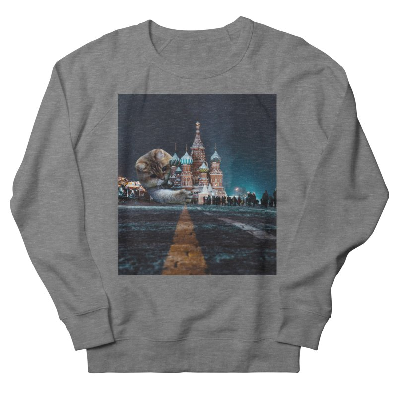 Saint Basil's Cathedral and Hosico Women's Sweatshirt by Hosico's Shop