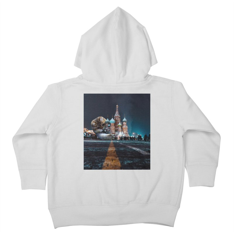 Saint Basil's Cathedral and Hosico Kids Toddler Zip-Up Hoody by Hosico's Shop