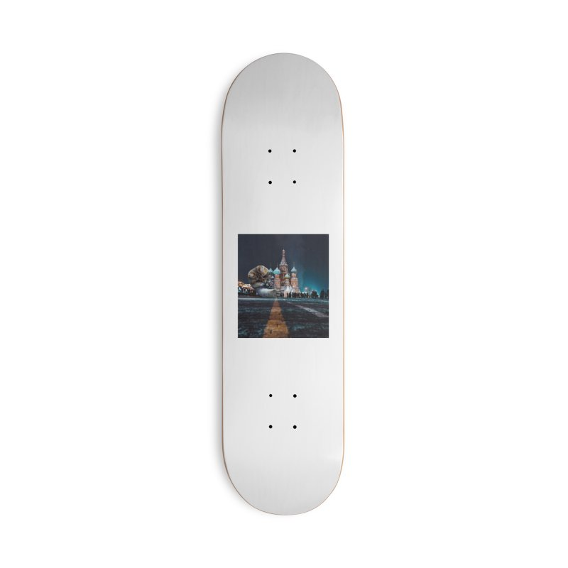 Saint Basil's Cathedral and Hosico Accessories Skateboard by Hosico's Shop