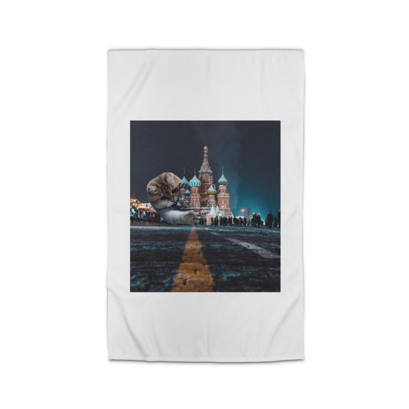 Saint Basil's Cathedral and Hosico Home Rug by Hosico's Shop