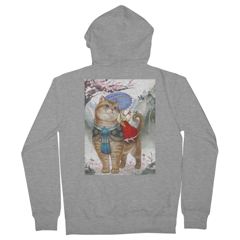 Hosico Hanbok Women's Zip-Up Hoody by Hosico's Artist Shop