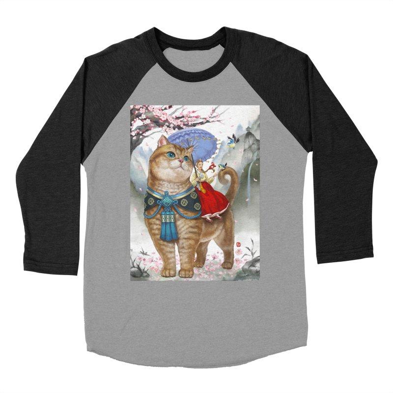 Hosico Hanbok Men's Baseball Triblend T-Shirt by Hosico's Artist Shop