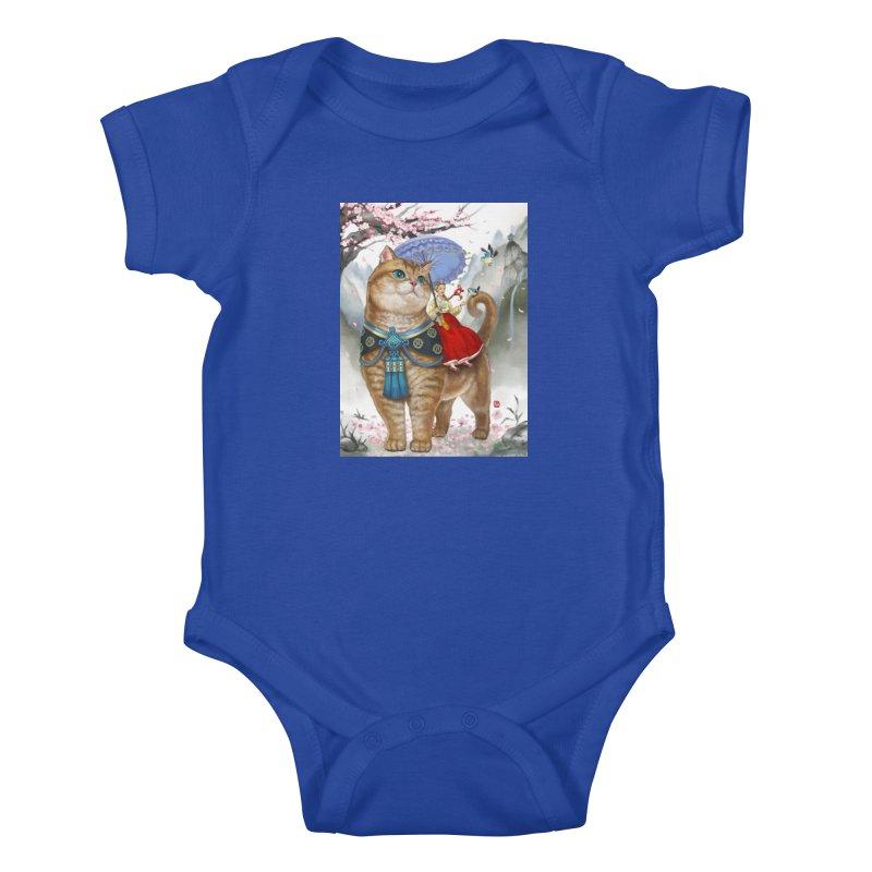Hosico Hanbok Kids Baby Bodysuit by Hosico's Artist Shop