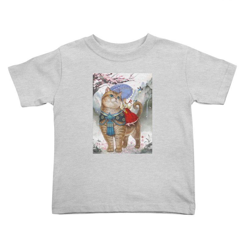 Hosico Hanbok Kids Toddler T-Shirt by Hosico's Artist Shop