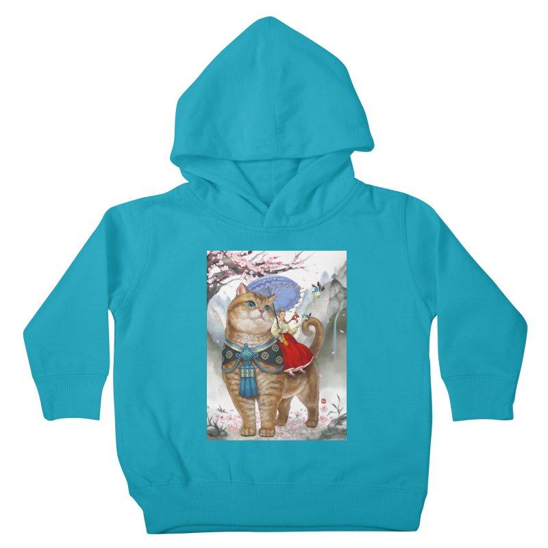 Hosico Hanbok Kids Toddler Pullover Hoody by Hosico's Artist Shop