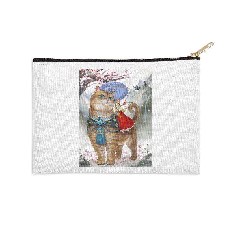 Hosico Hanbok Accessories Zip Pouch by Hosico's Artist Shop