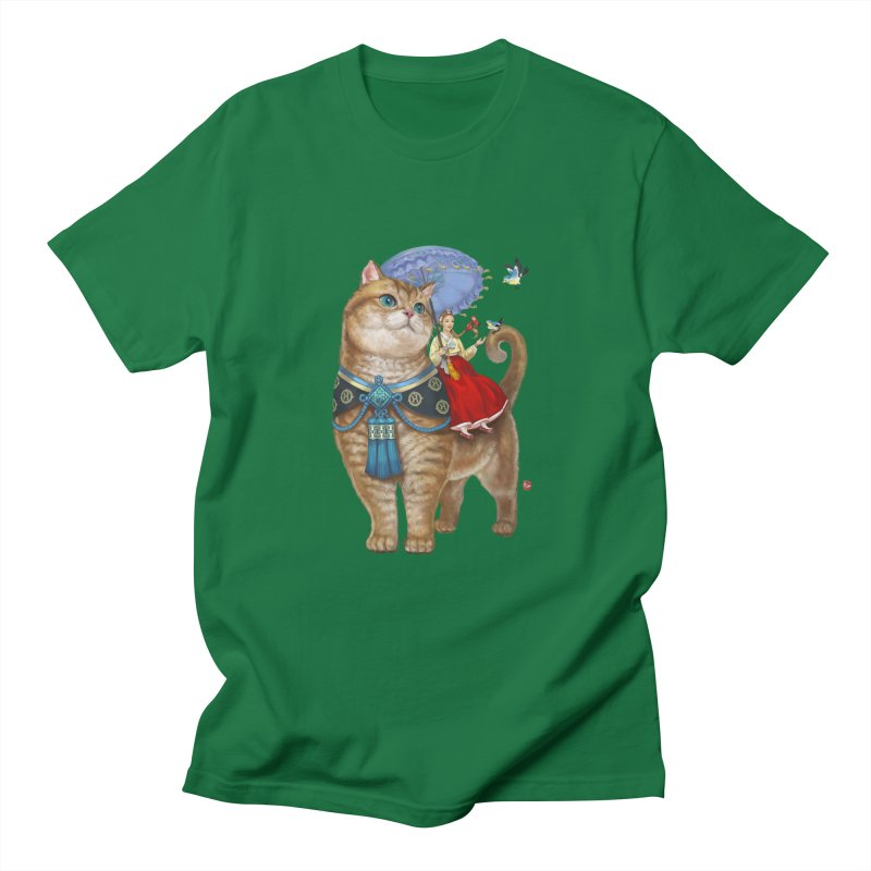 Hosico Hanbok Men's T-shirt by Hosico's Artist Shop