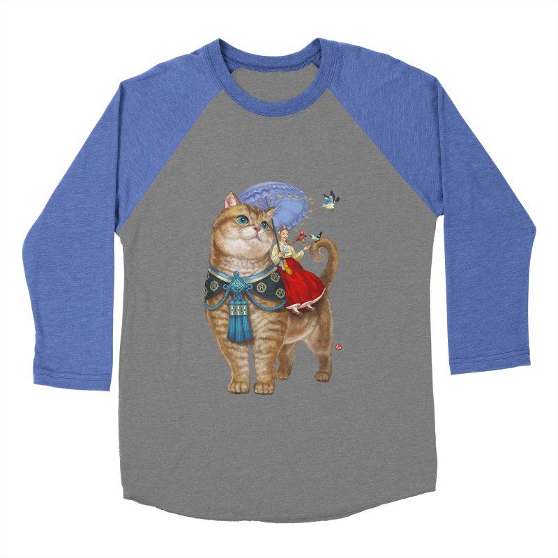 Hosico Hanbok Women's Baseball Triblend T-Shirt by Hosico's Artist Shop