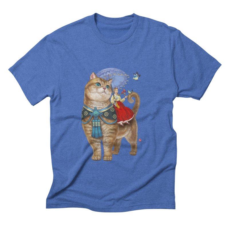Hosico Hanbok Men's Triblend T-shirt by Hosico's Artist Shop