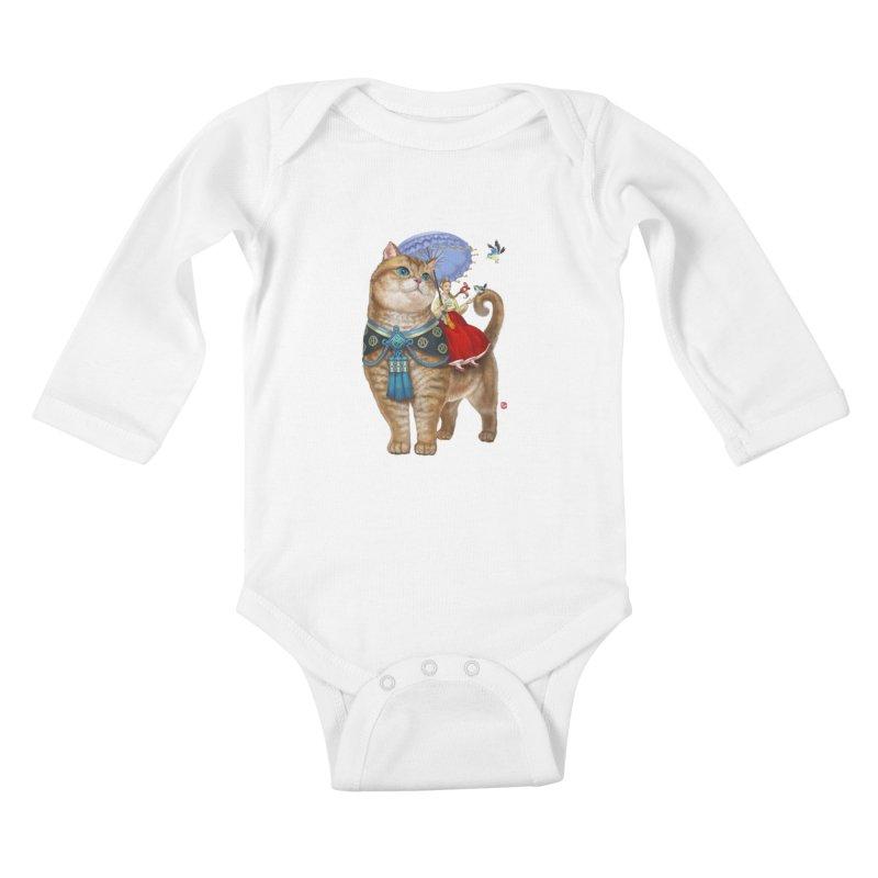 Hosico Hanbok Kids Baby Longsleeve Bodysuit by Hosico's Artist Shop