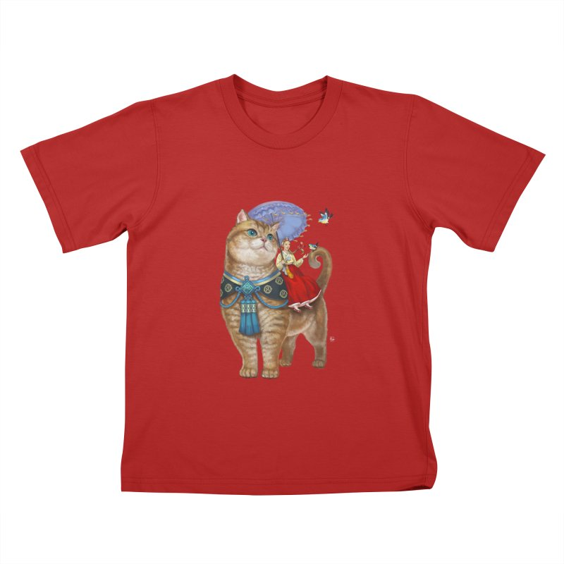 Hosico Hanbok Kids T-shirt by Hosico's Artist Shop