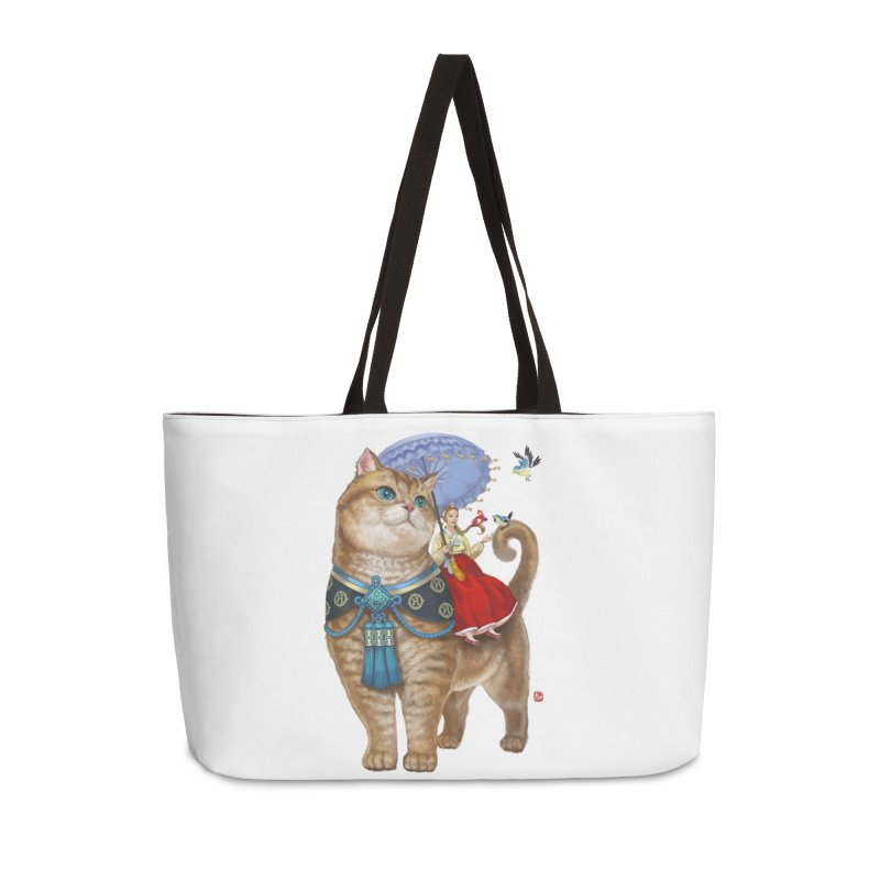 Hosico Hanbok in Weekender Bag by Hosico's Artist Shop