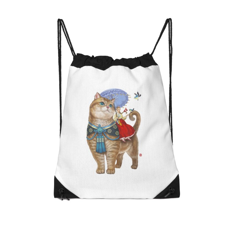 Hosico Hanbok in Drawstring Bag by Hosico's Artist Shop