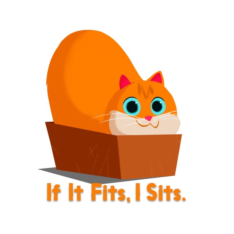 If it fits, i sits Women's Fitted T-Shirt by Hosico's Artist Shop