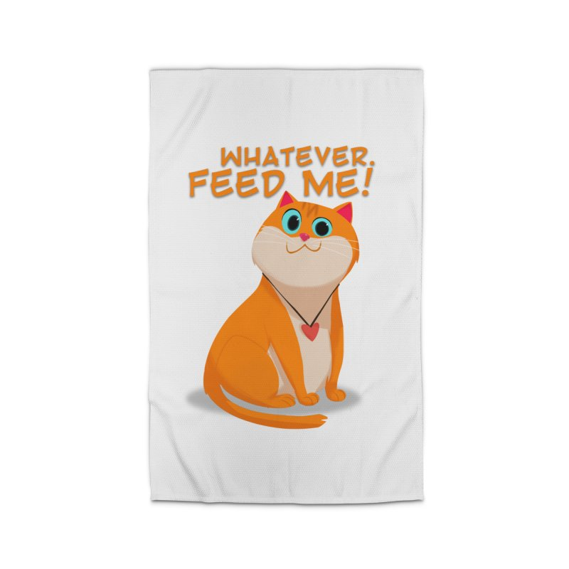 Whatever. Feed Me! Home Rug by Hosico's Artist Shop