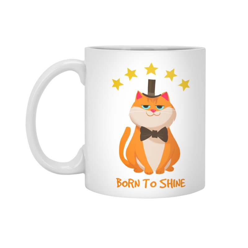 Born To Shine Accessories Mug by Hosico's Artist Shop