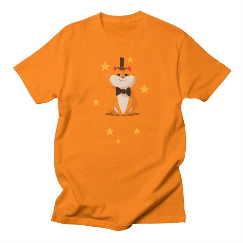 Born To Shine Men's T-shirt by Hosico's Artist Shop