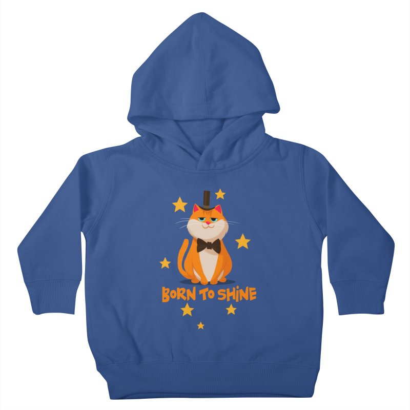 Born To Shine Kids Toddler Pullover Hoody by Hosico's Artist Shop