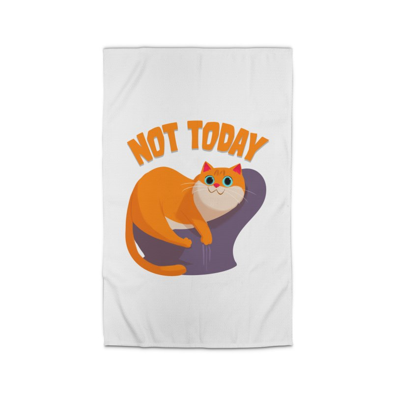 Not Today Home Rug by Hosico's Artist Shop