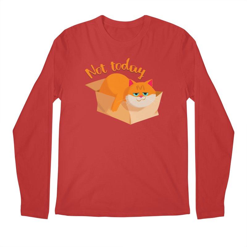 Not Today Men's Longsleeve T-Shirt by Hosico's Artist Shop