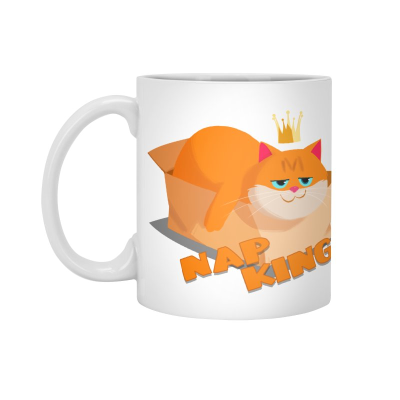 Nap King Accessories Mug by Hosico's Artist Shop
