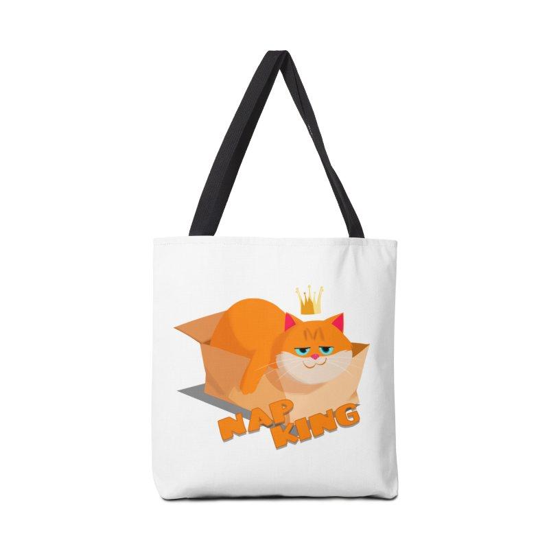 Nap King Accessories Bag by Hosico's Artist Shop