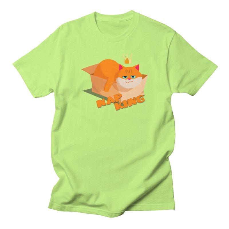 Nap King Women's Unisex T-Shirt by Hosico's Artist Shop
