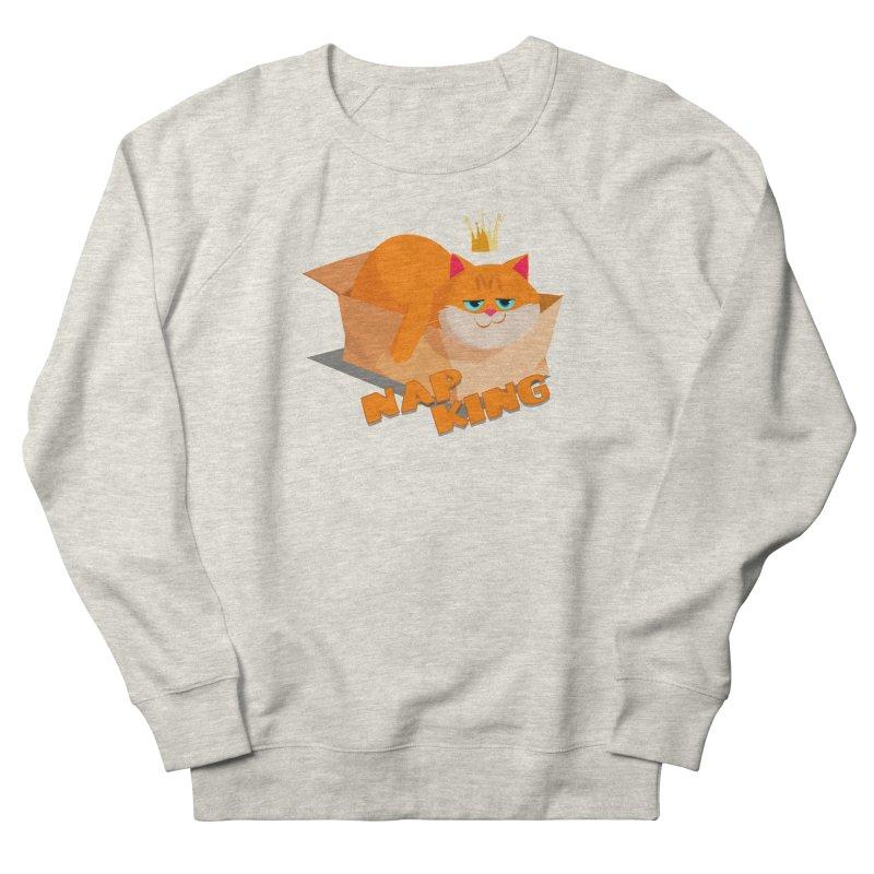 Nap King Women's Sweatshirt by Hosico's Artist Shop