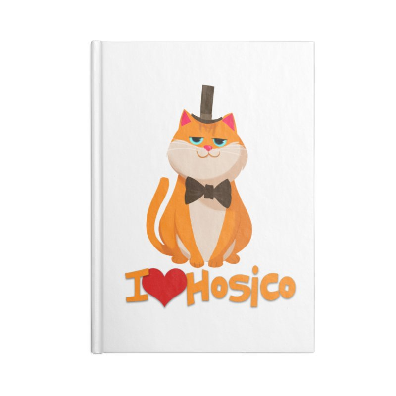 I Love Hosico Accessories Notebook by Hosico's Artist Shop