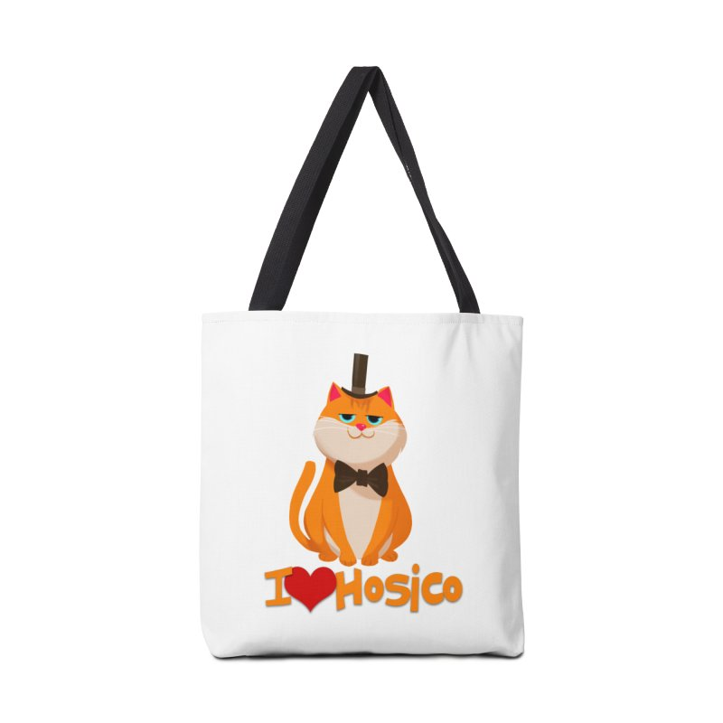 I Love Hosico Accessories Bag by Hosico's Artist Shop