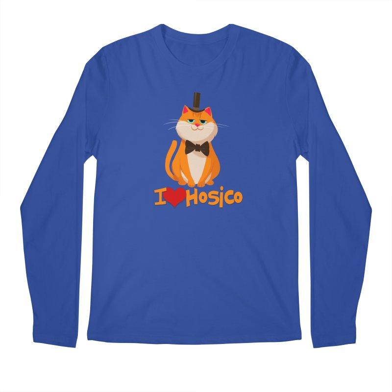 I Love Hosico Men's Longsleeve T-Shirt by Hosico's Artist Shop