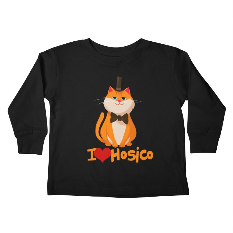 I Love Hosico Kids Toddler Longsleeve T-Shirt by Hosico's Artist Shop