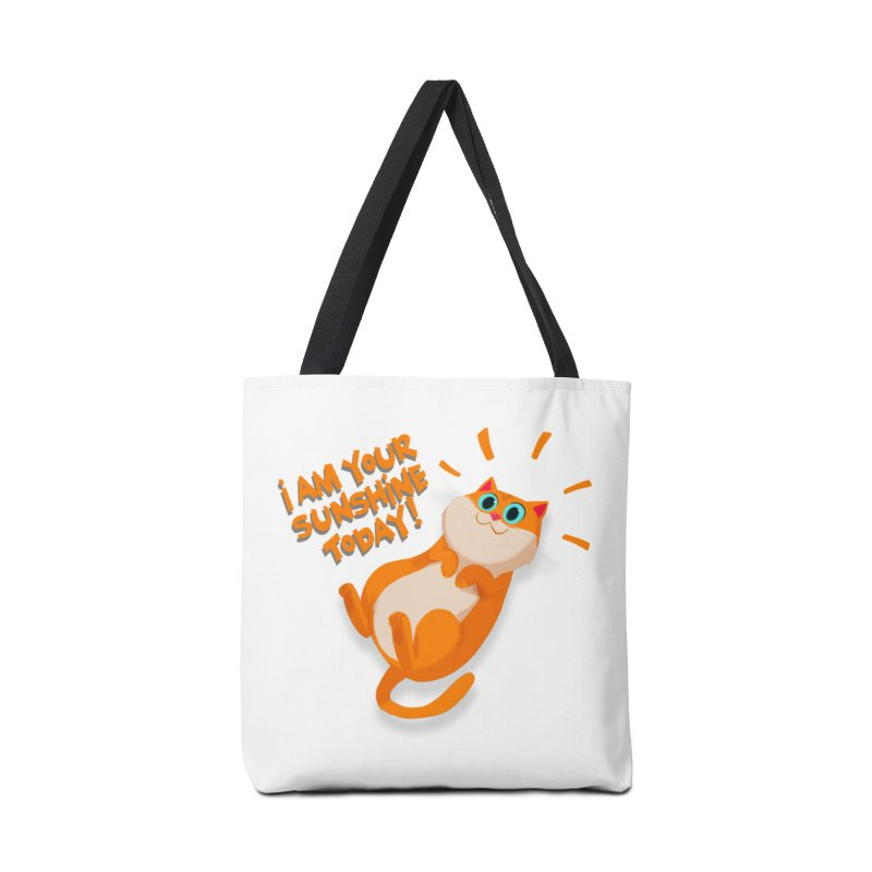 I am your Sunshine Today! Accessories Bag by Hosico's Artist Shop