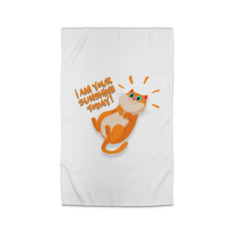 I am your Sunshine Today! Home Rug by Hosico's Artist Shop
