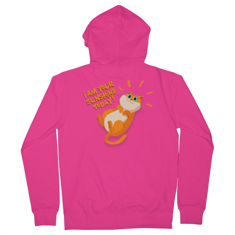 I am your Sunshine Today! Men's Zip-Up Hoody by Hosico's Artist Shop