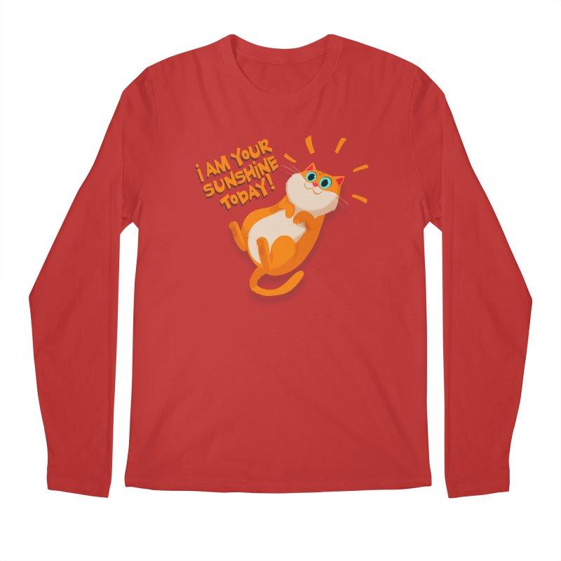 I am your Sunshine Today! Men's Longsleeve T-Shirt by Hosico's Artist Shop