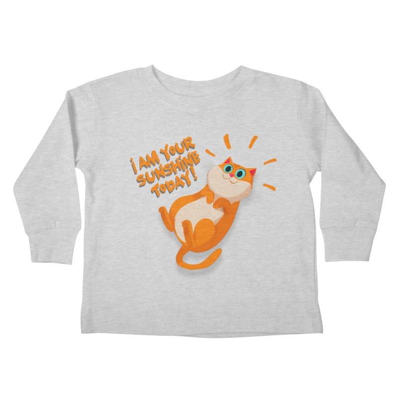 I am your Sunshine Today! Kids Toddler Longsleeve T-Shirt by Hosico's Artist Shop