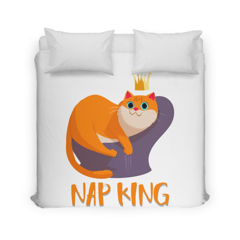 Nap King Home Duvet by Hosico's Artist Shop