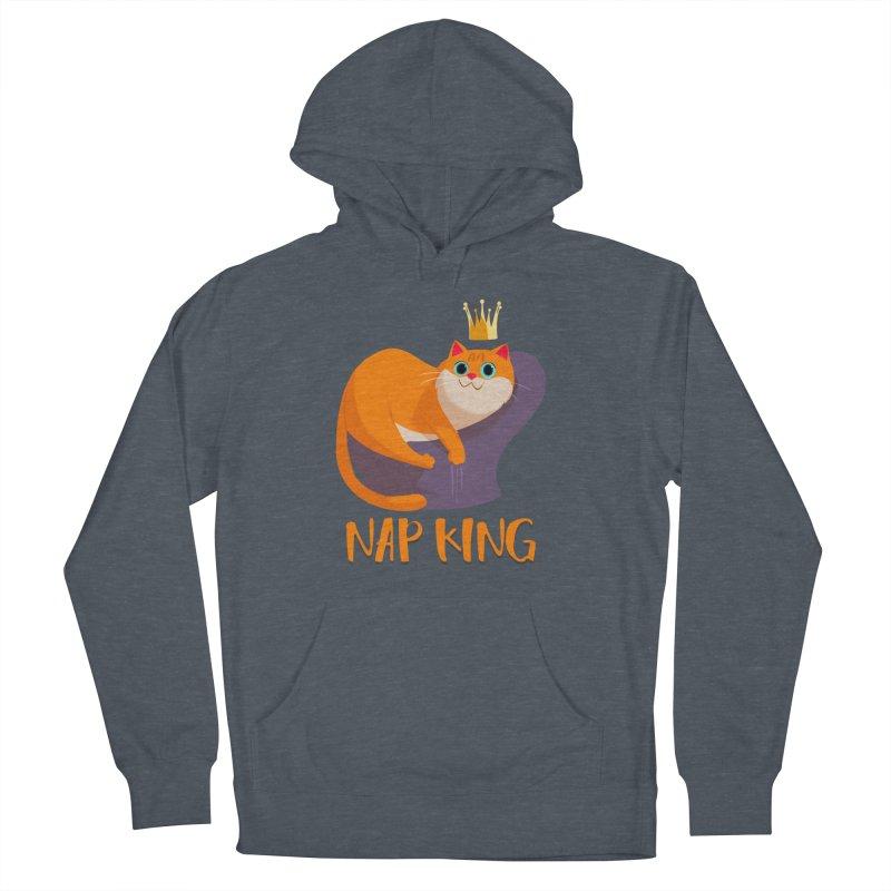 Nap King Men's Pullover Hoody by Hosico's Artist Shop