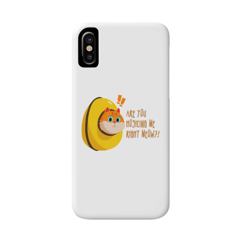 Are you Hosicing me right Meow?! Accessories Phone Case by Hosico's Artist Shop